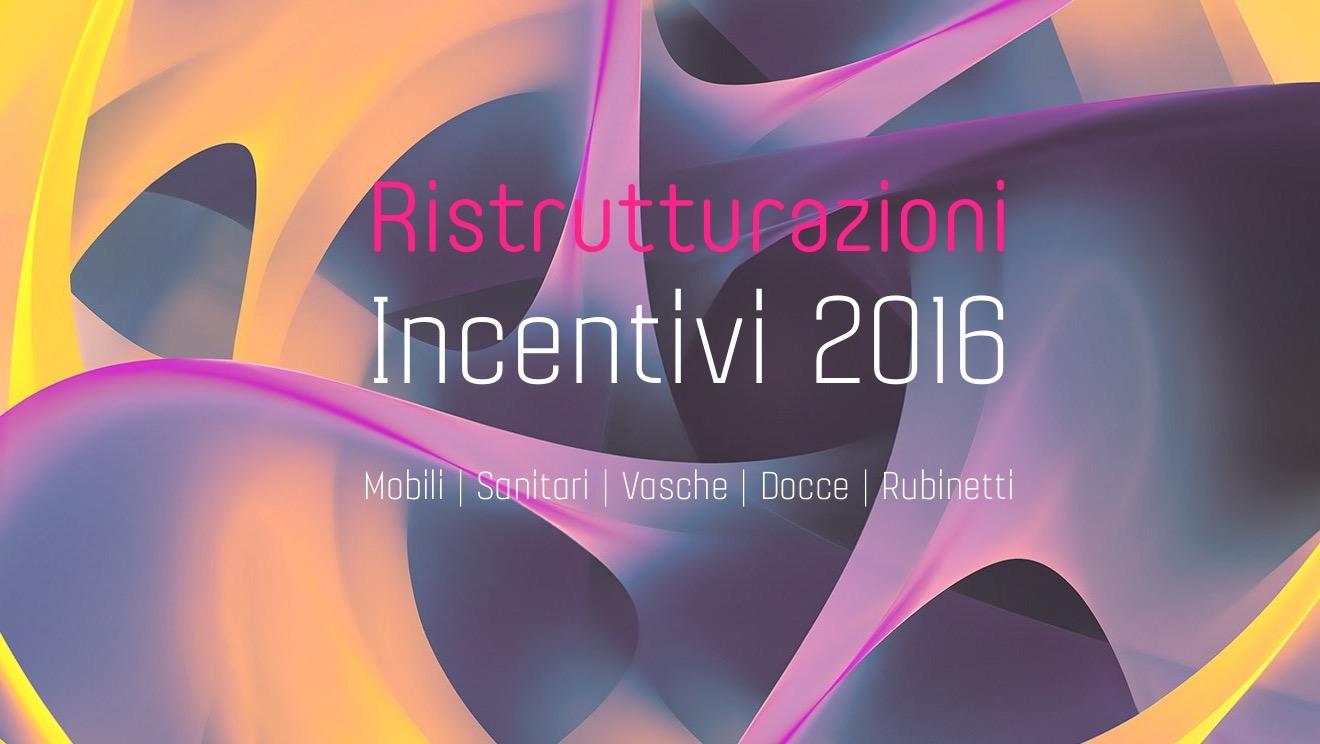 Tomasi info incentivi iva agevolata for Incentivi mobili 2016