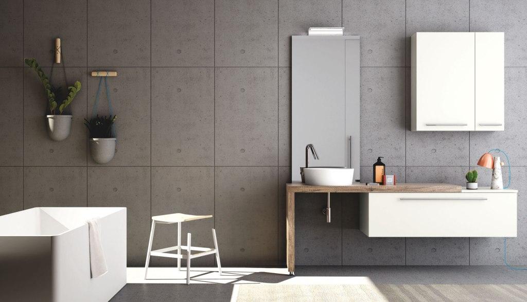puntotre | mobili sistema maniglia - Vismara Arredo Bagno