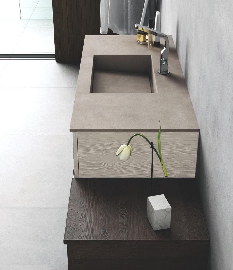 Puntotre mobili sistema maniglia for Composizione piastrelle bagno