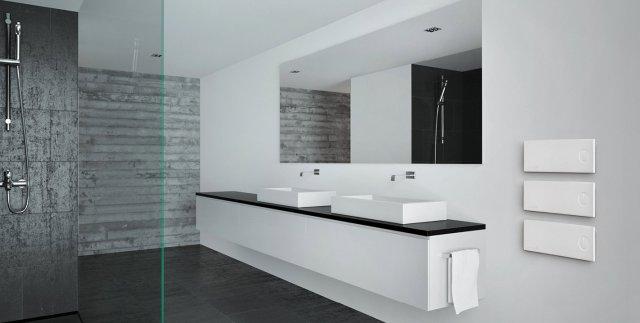 Arredo bagno elettrico prezzi design casa creativa e mobili ispiratori - Scaldasalviette da bagno ...
