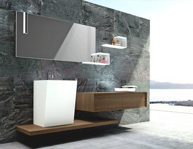 Puntotre mobili moduladue for Negozi mobili bagno